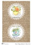 Декупажные карты Vintage collection 27  30 гр/м2