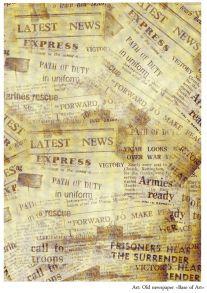 Old newspaper  30 гр/м2