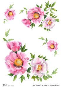 Flowers & white 11 30 гр/м2