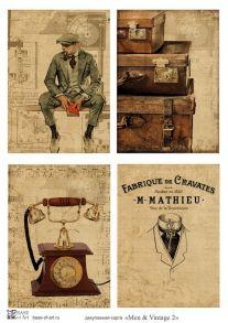 Men & Vintage 2  30 гр/м2